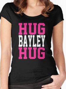 HUG BAYLEY HUG Women's Fitted Scoop T-Shirt
