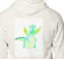 Little Dragon ~ Kleiner Drache Zipped Hoodie