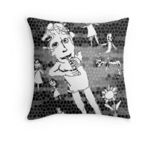 Piper At The Gates Of Forever Throw Pillow
