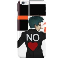 no love  iPhone Case/Skin