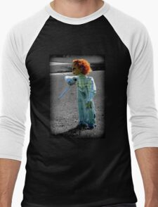 Chucky's Here.....Trick or Treat in SC Men's Baseball ¾ T-Shirt