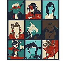Final Fantasy VII - Characters Photographic Print