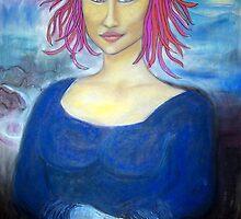 Funky Mona Lisa by funkyfacestudio