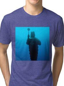 Guardian of the Sea - Poseiden Tri-blend T-Shirt