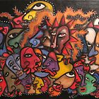 faces faces and more faces.....all these damned faces by helene ruiz