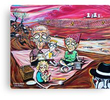 'The Picnic (Nuclear Family)' Canvas Print