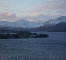 View to the Luss Hills by Susan Dailey