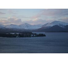 View to the Luss Hills Photographic Print