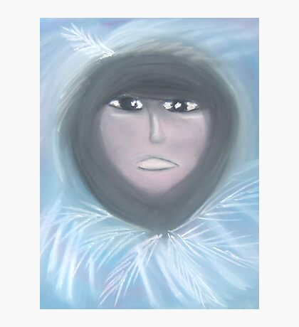 White Feather Photographic Print
