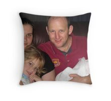 Peter's Family Throw Pillow