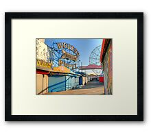 wonder wheel 1 Framed Print