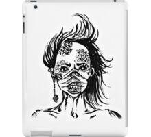 Mermaid Face iPad Case/Skin