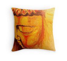 Buddah Throw Pillow
