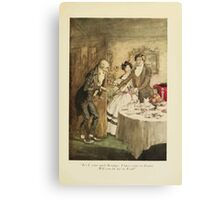 A Christmas Carol by Charles Dickens art by Arthur Rackham 1915 0183 Your Uncle Scrooge Canvas Print