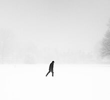 Alone in the Snow by clivester