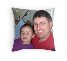 Eliza and Gary Throw Pillow