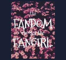 The Fandom Chooses the Fangirl One Piece - Short Sleeve