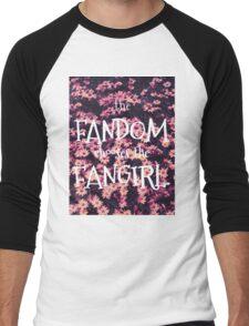The Fandom Chooses the Fangirl Men's Baseball ¾ T-Shirt