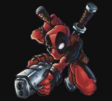 Deadpool x by Veldead