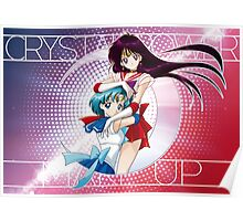 Sailor Moon Super S - Mars & Mercury Crystal Power! Poster