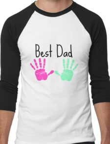 Father´s Day shirt - Best dad - Gift fathers day Men's Baseball ¾ T-Shirt
