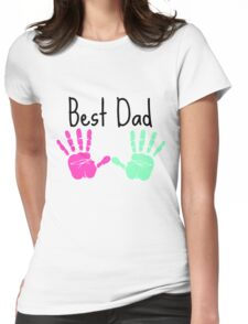 Father´s Day shirt - Best dad - Gift fathers day Womens Fitted T-Shirt