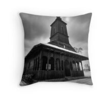 Real Holly Wood I Throw Pillow