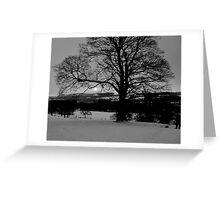 Spine Tree Greeting Card