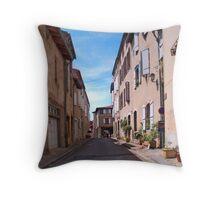 Saint-Lizier Street Throw Pillow