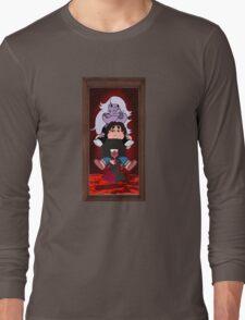 stretching portrait Long Sleeve T-Shirt