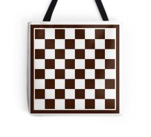 Checkers board Tote Bag