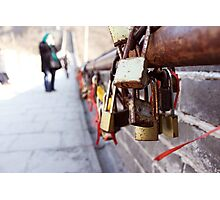 a lock on history Photographic Print