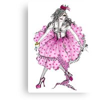 Lady Cupcake Canvas Print