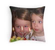 Tennille and Katie Throw Pillow