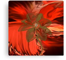 Flower Abstract 115-  Art + Products Design  Canvas Print