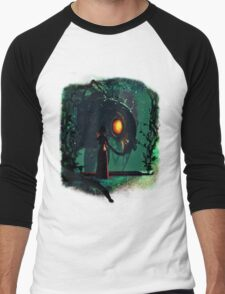 Bioshock Infinite Songbird & Elizabeth Men's Baseball ¾ T-Shirt