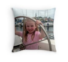 Tennille Sailing Throw Pillow