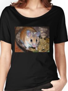Curious Hamster Women's Relaxed Fit T-Shirt