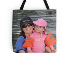 Bronte and Mummy Tote Bag