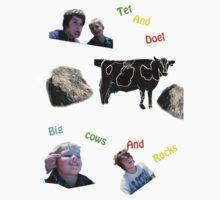 Big Cows and Rocks by Joels73Panel