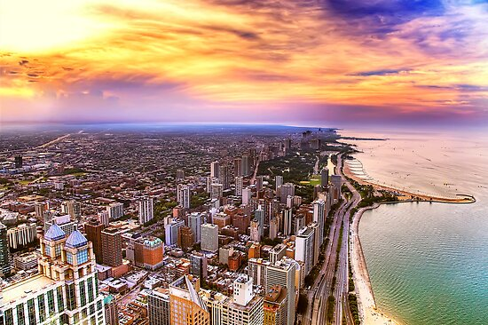 Oh Chicago by Janet Fikar
