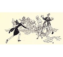 The Zankiwank & the Bletherwitch by Shafto Justin Adair Fitz Gerald art Arthur Rackham 1896 0156 There He Is Photographic Print