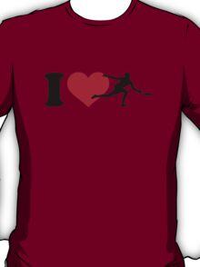 I love Disc golf T-Shirt