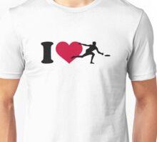 I love Disc golf Unisex T-Shirt