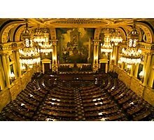PA House of Representatives Room-Harrisburg, PA Photographic Print