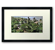 an amazing Cape Verde landscape Framed Print