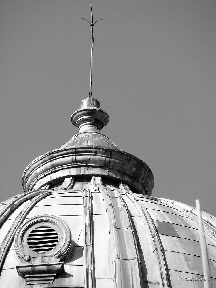 Customs House Dome  by PhoenixArt