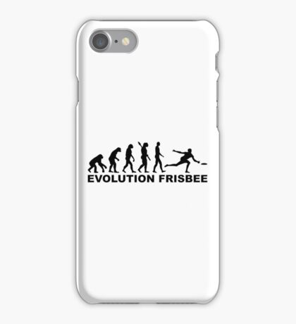 Evolution Frisbee iPhone Case/Skin