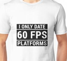 PC Master Race - 60 fps Unisex T-Shirt
