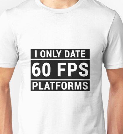 PC Master Race - 60 fps Unisex T-Shirt
